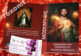 Nabożeństwo I piątków miesiąca MÓDLMY SIĘ adoracja