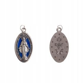 Kolorowy Cudowny Medalik - Matka Boża Niepokalana