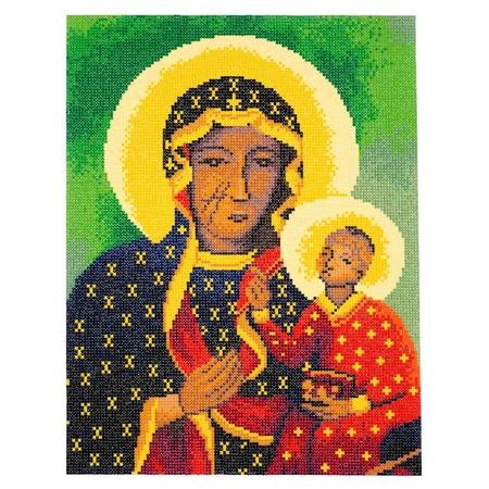 Matka Boża Częstochowska diamentowy haft mozaika (5)