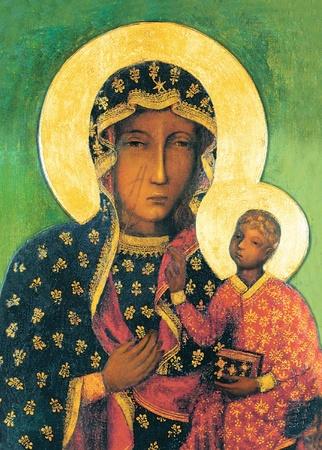Matka Boża Częstochowska diamentowy haft mozaika (2)