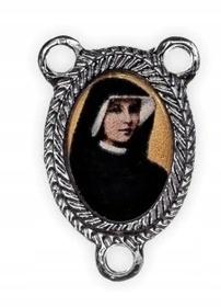 KOLOROWY łącznik różańca św. s. Faustyna Kowalska