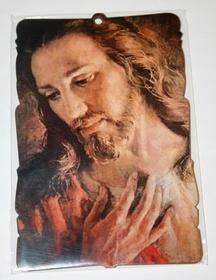 Obraz na ścianę Jezus zdjęcie br. Elia 10 x 15cm