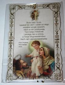 Obrazek na ścianę błogosławieństwo domu modlitwa