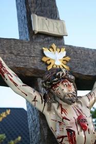 250cm PASYJNY KRZYŻ Serca Jezusowego Końca Czasu