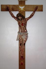 160cm PASYJNY KRZYŻ Serca Jezusowego Końca Czasu