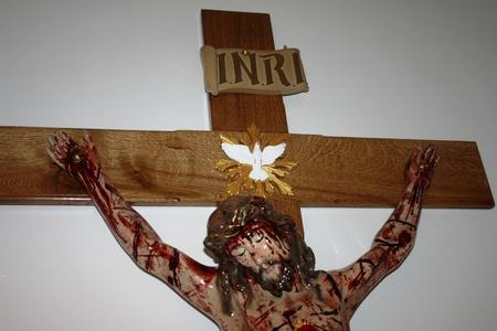 160cm PASYJNY KRZYŻ Serca Jezusowego Końca Czasu (6)