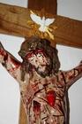 160cm PASYJNY KRZYŻ Serca Jezusowego Końca Czasu (5)