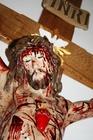 160cm PASYJNY KRZYŻ Serca Jezusowego Końca Czasu (9)