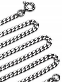Łańcuszek srebrny pr 925 pancerka dla dziecka 45cm