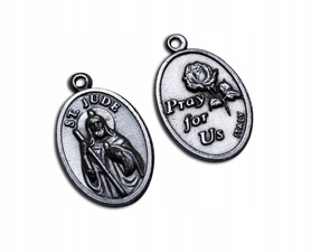 Św. Juda Tadeusz metalowy unikatowy medalik