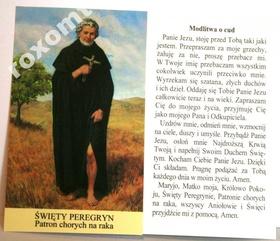 Obrazek Peregryna św. Peregryn + modlitwa o cud