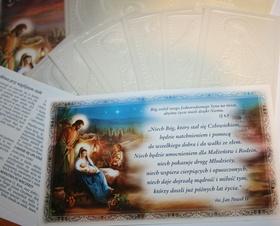 Opłatek wigilijny duży gruby zestaw aż 9szt. + błogosławieństwo domu + modlitwa przy stole