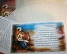 Opłatek wigilijny duży gruby zestaw aż 9szt. + błogosławieństwo domu + modlitwa przy stole (1)