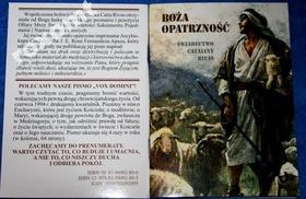 Boża Opatrzność - Świadectwo C. Rivas o śmierci