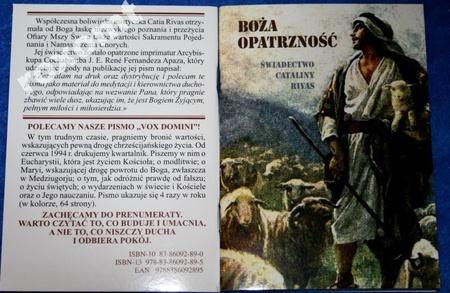 Boża Opatrzność - Świadectwo C. Rivas o śmierci (1)