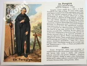 Obrazek św. Peregryn + modlitwa do św. Peregryna