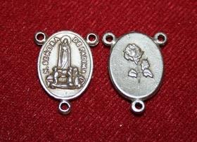 2cm łącznik do różańca koronki Objawienie Fatima