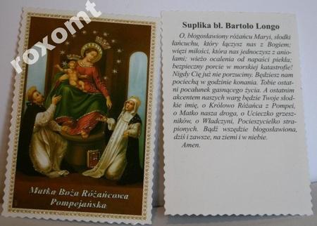 Obrazek Matka Boża Pompejańska Różańcowa + suplika (1)