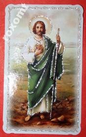 Św. Juda Tadeusz apostoł - obrazek brokatowany