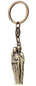 Brelok satynowany św. Rodzina Józef Jezus Maryja