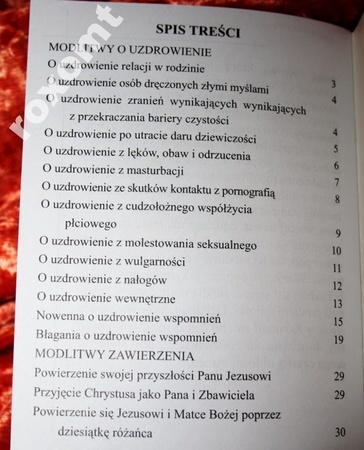 O uzdrowienie zranień MÓDLMY SIĘ m.in. seksualność (2)