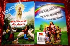 NOWOŚĆ Modlitewnik dla dzieci KOLOR super wydanie
