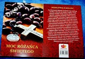 RÓŻANIEC Moc Różańca Świętego Modlitewnik 82str.