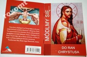 MÓDLMY SIĘ Do Ran Chrystusa Jezusa Rany koronka