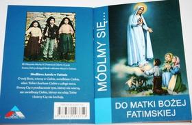 Do Matki Bożej Fatimskiej Módlmy się Fatima 100lat