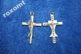 Krzyżyk Krwi Chrystusa Wybaw Nas do różańca itp.