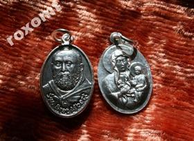 Św. Brat ALBERT Matka Boża z Dzieciątkiem Medalik