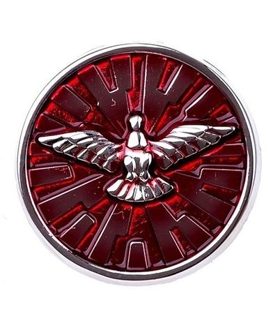 Przypinka znaczek symbol z Duchem Świętym gołębica (1)