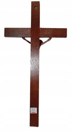21cm PASYJNY KRZYŻ Serca Jezusowego Końca Czasu (3)