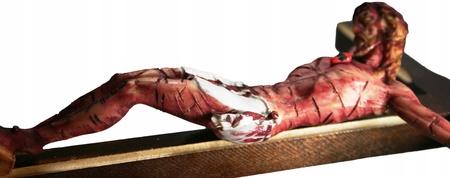 21cm PASYJNY KRZYŻ Serca Jezusowego Końca Czasu (6)