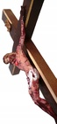 21cm PASYJNY KRZYŻ Serca Jezusowego Końca Czasu (5)