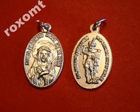Medalik Św. Filomena + Michał Archanioł z Gargano