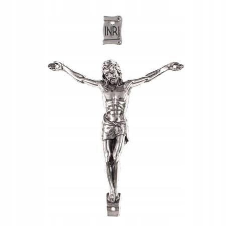 14cm duży korpus Chrystusa do krzyża krzyżyk 4/4 (1)