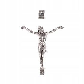 12cm średni korpus Chrystusa do krzyża krzyżyk 3/4