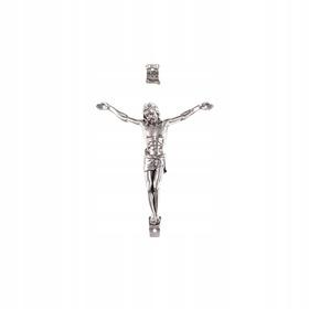 9cm mały korpus Chrystusa do krzyża krzyżyka 2/4